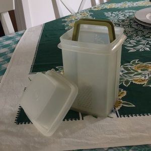 Vintage Tupperware Pickle Container